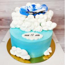 Торт на день рождения фирмы
