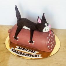 Торт на открытие магазина