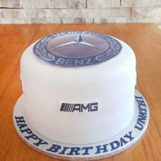 Торт с напечатанным лого
