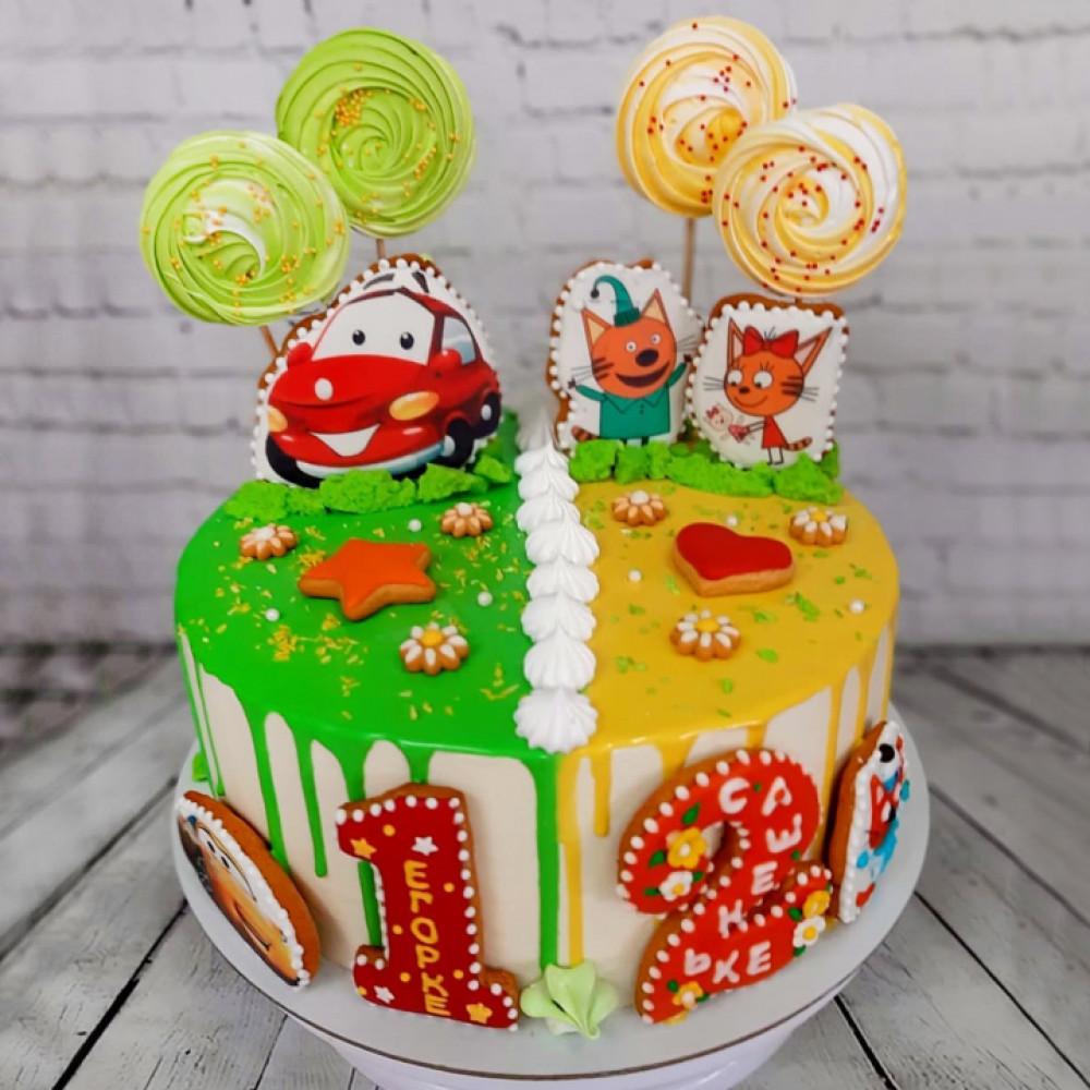 Торт на двоих мальчиков