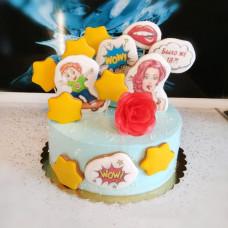 Торт на двоих мама и сын