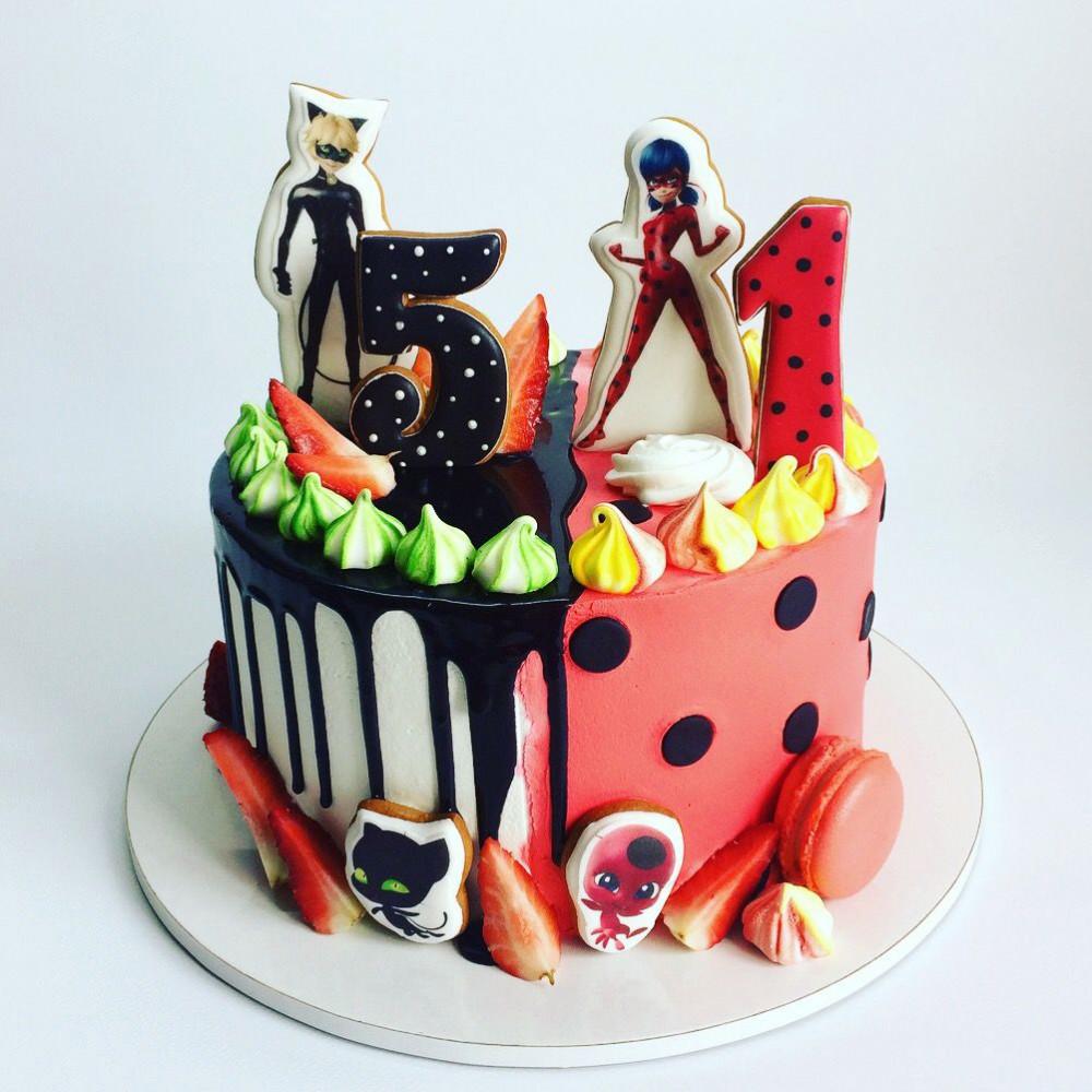 Торт на двоих детей