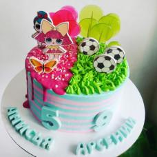 Торт для девочки и мальчика