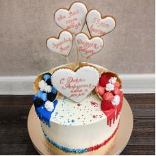 Торт на двоих мужу и жене