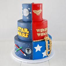 Торт для мужчины и женщины на двоих