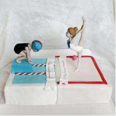 Двойной торт для детей