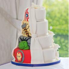 Торт на двойную свадьбу