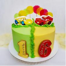 Торт двоих для сыновей