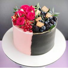 Торт на двоих