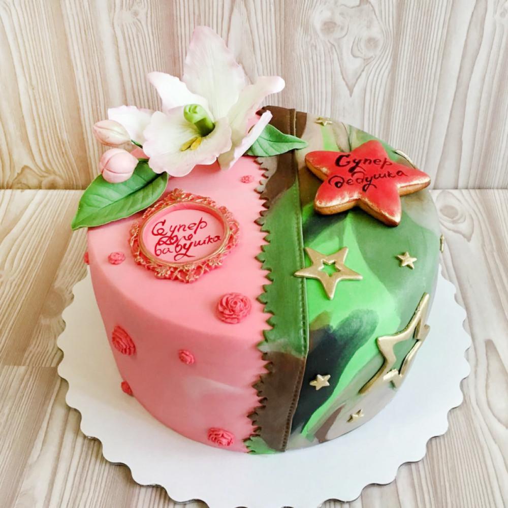 Торт для дедушки и бабушки