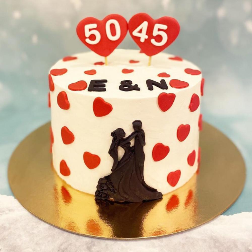 Торт на двойной праздник