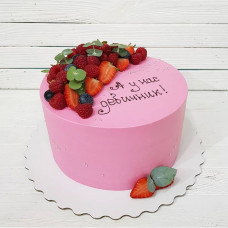 Торт на девичник без мастики