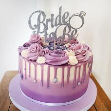 Торт на девичник с фамилией невесты