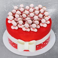 Торт на тему 18+