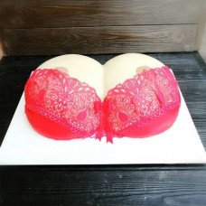 Торт голая грудь