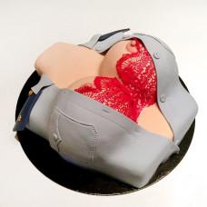 Торт для мужчины бюст