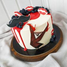 Пикантный торт на мальчишник