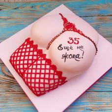 Торт с женской попой на юбилей