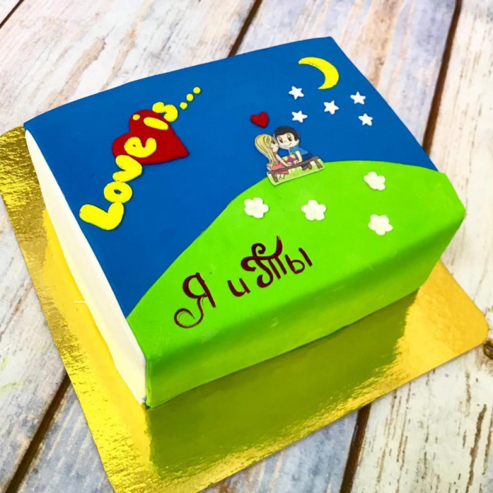 Торт на 14 февраля любимому