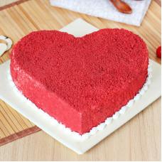 Торт Red Velvet на 14 февраля