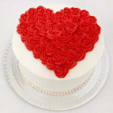 Торт на День всех влюблённых