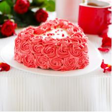 Торт на 14 февраля день влюбленных