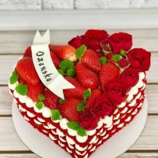 Торт на 14 февраля девушке