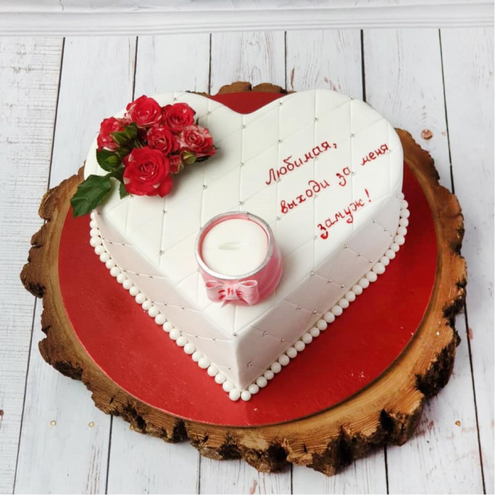 Торт на 14 февраля девочке