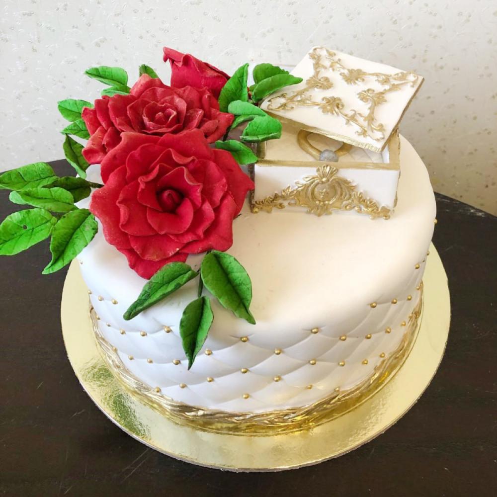Торт на День Святого Валентина любимой
