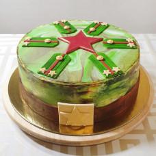 Торт на День Защитника Отечества