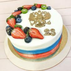 Торт для военного на 23 февраля
