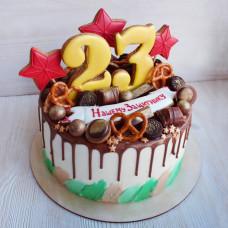 Торт на День Защитника Отечества для мужчин