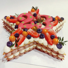 Торт для мужчины на 23 февраля