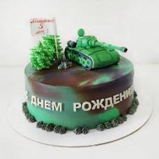 Торт танкисту на День Защитника Отечества