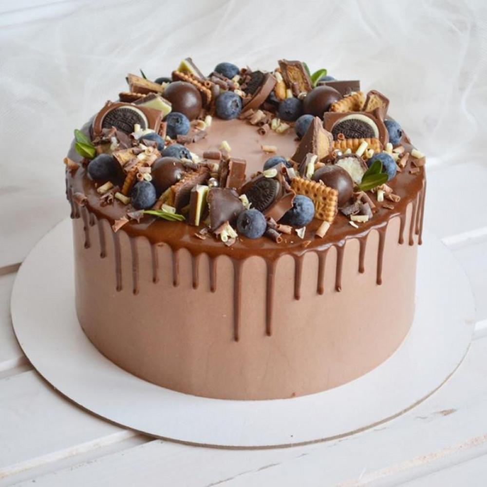 Шоколадный торт на 23 февраля