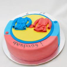 Детский торт на 23 февраля