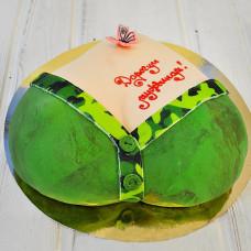 Торт женская грудь на 23 февраля