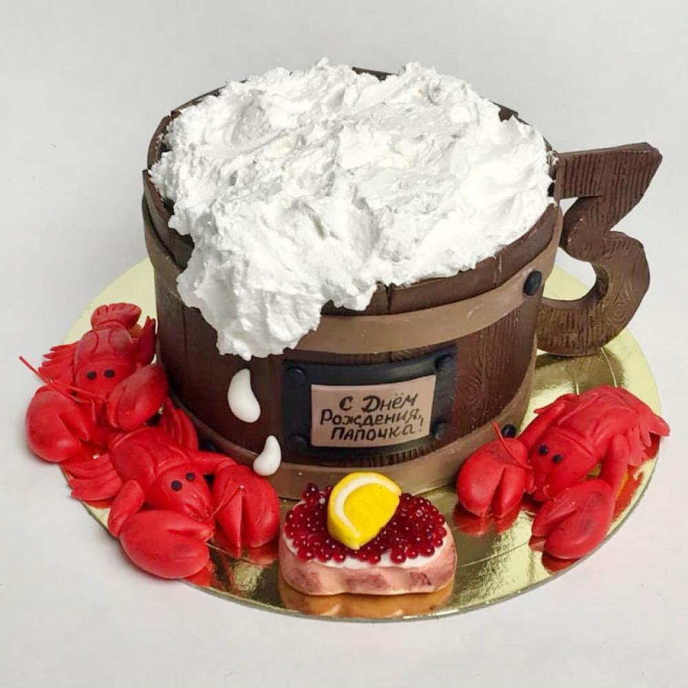 Пивной торт на 23 февраля
