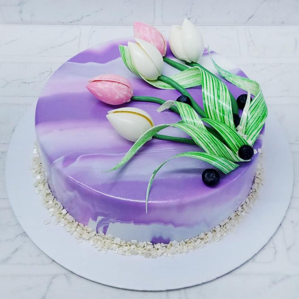 Муссовый торт на 8 марта