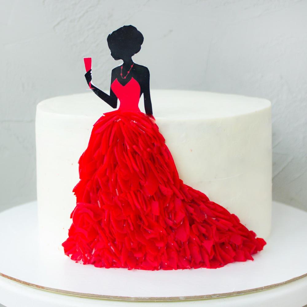 Торт женщине на 8 марта