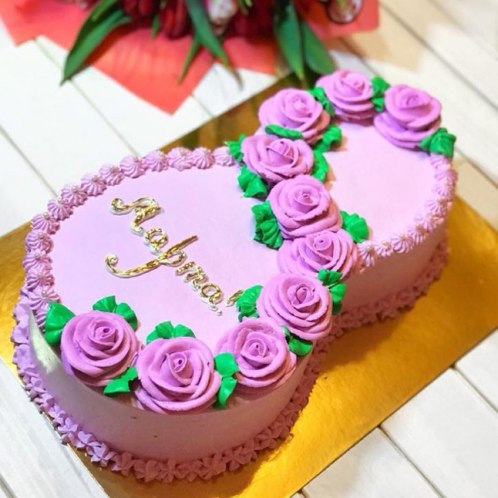 Торт Восьмерка на 8 марта женщине