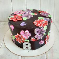Торт на 8 марта любимым женщинам