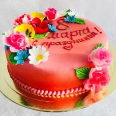 Торт сестре на 8 марта