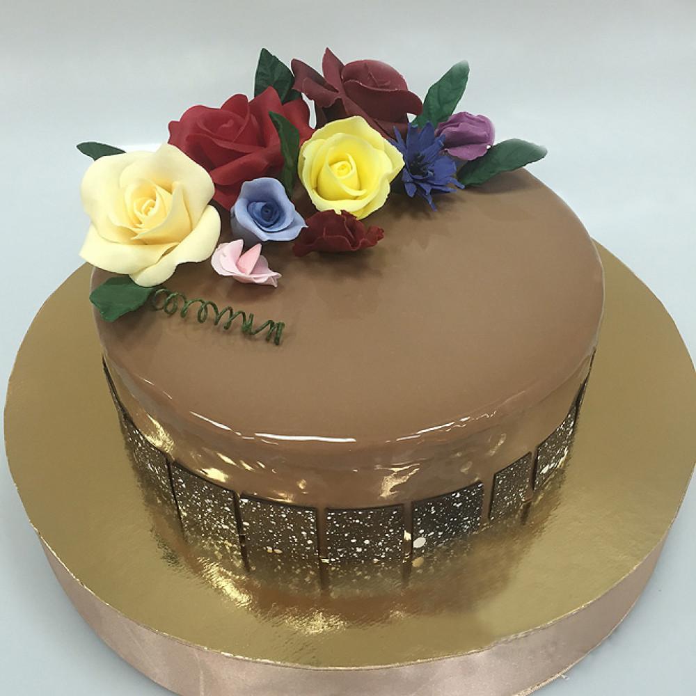 Шоколадный торт на 8 марта