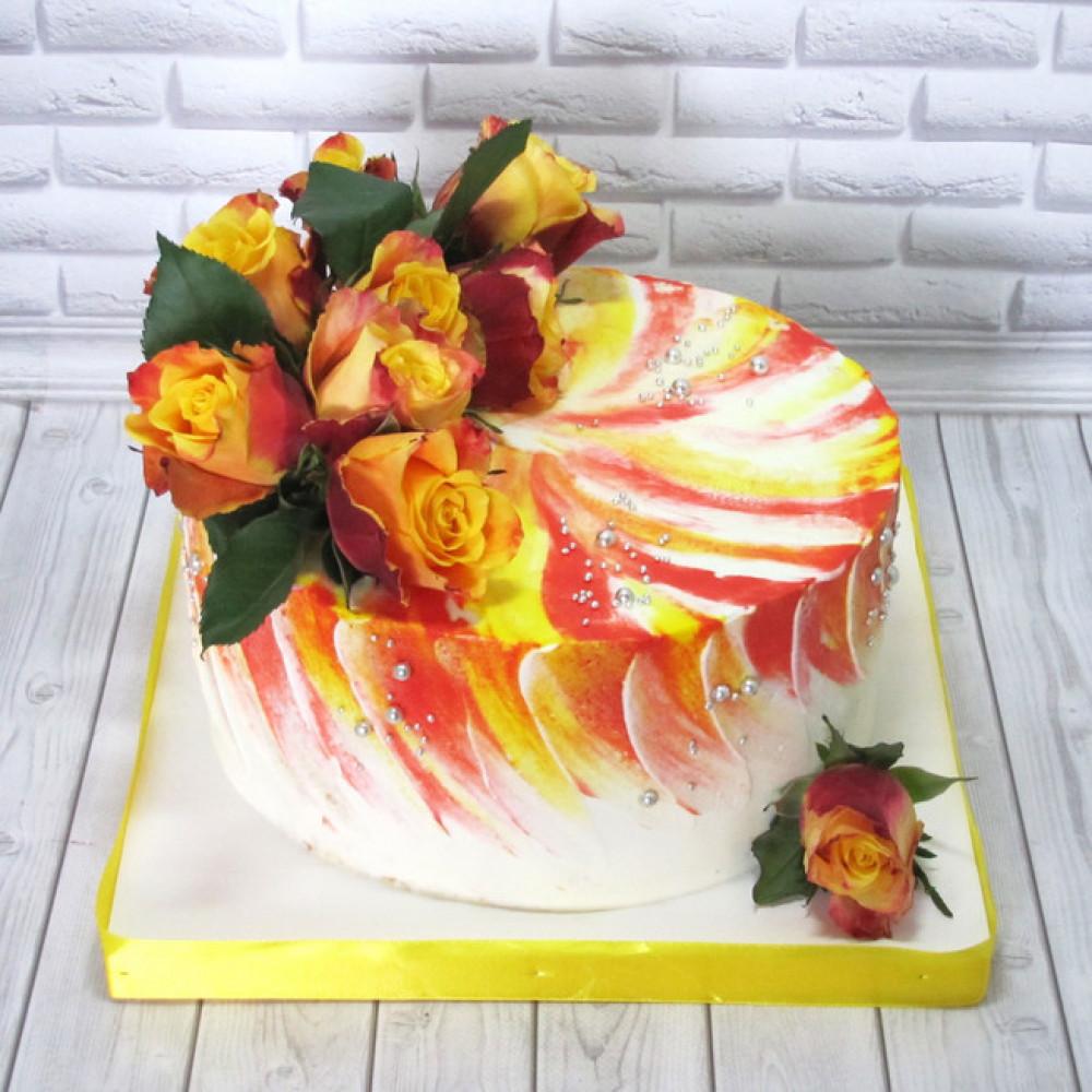 Торт для женщин на 8 марта