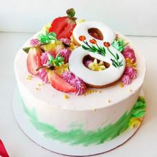 Торт на женский день