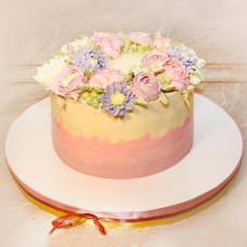 Кремовый торт на 8 марта
