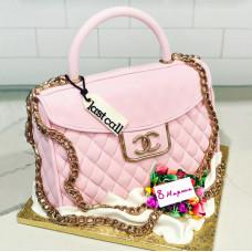 Торт сумка на 8 марта