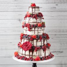 Большой торт на 8 марта
