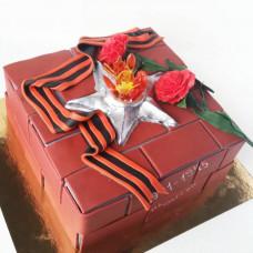 Праздничный торт вечный огонь